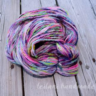 handspun yarn brush strokes