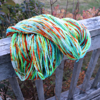 speckle yarn bright and vibrant