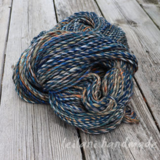 handspun alpaca and merino yarn