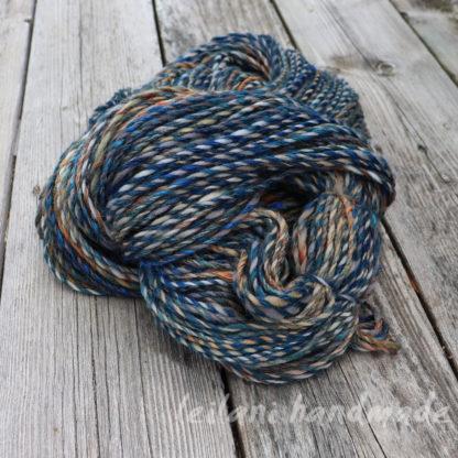 handspun alpaca and merino yarn