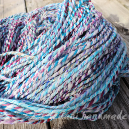beyond the cable handspun yarn