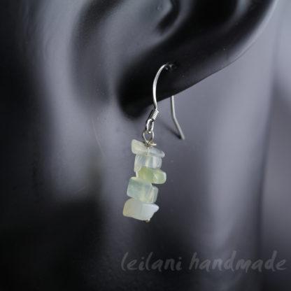 serpentine chip earrings