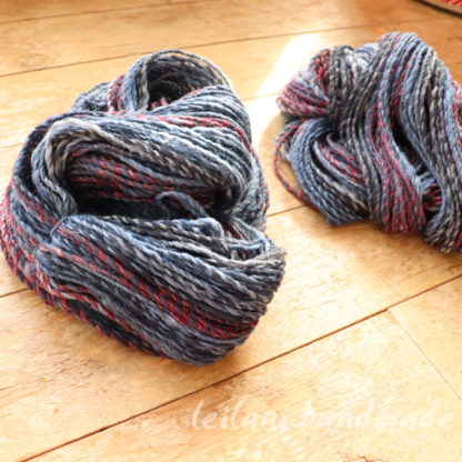 Handspun CormoSilk Blend Yarn