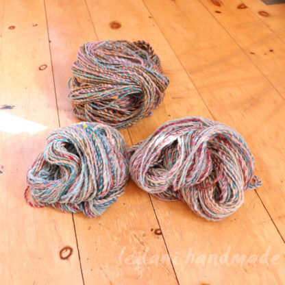 handspun yarn 3 skein set